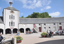 Steading and Museum at Aden Country Park