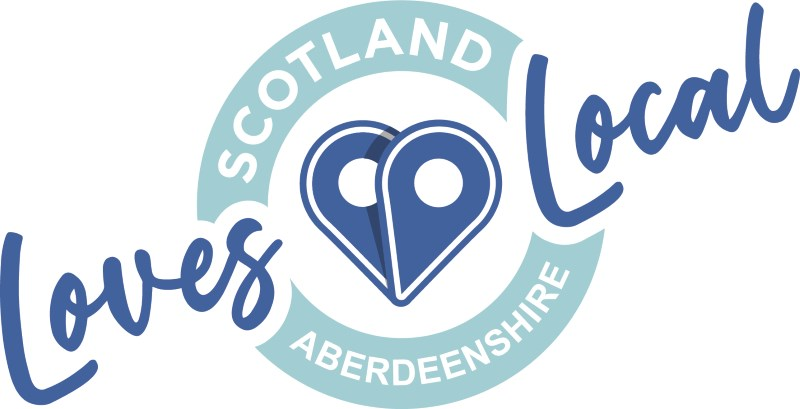 Scotland Loves Local - Aberdeenshire logo